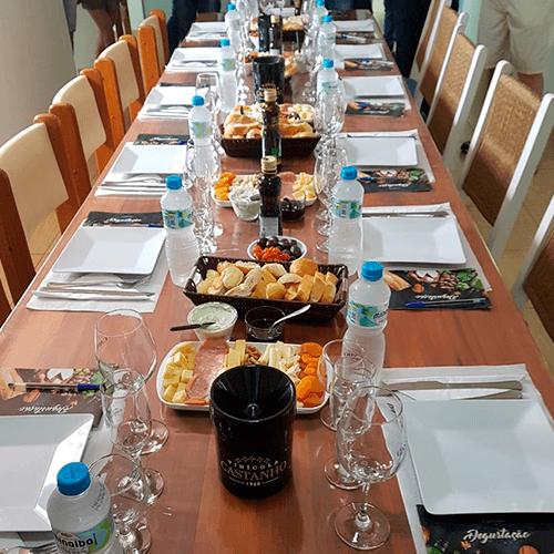 degustação e harmonização de vinhos e espumantes