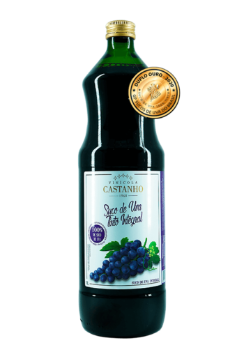 suco de uva tinto integral premiado